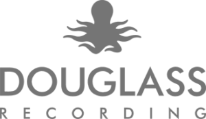 douglass recording studio logo - grey